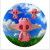 three flying piglets logo